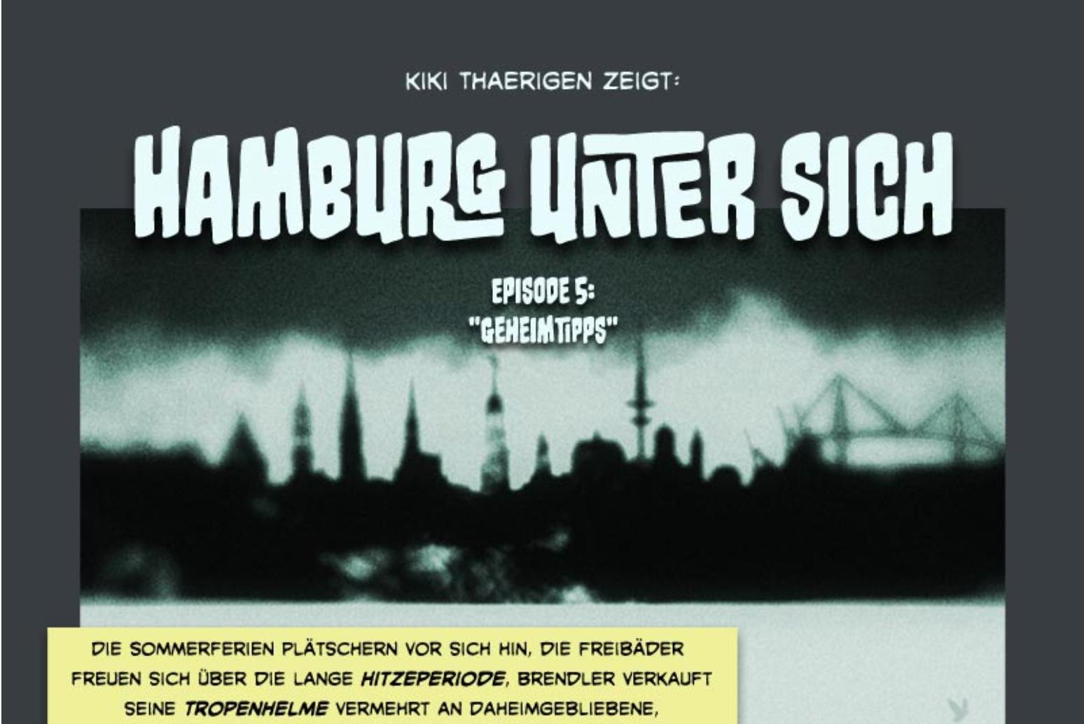 Ein paar Fragen, die Hamburg bewegen.
